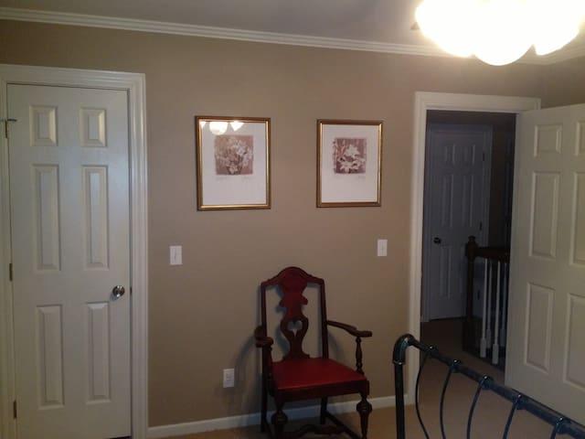 Bedroom Right Wall