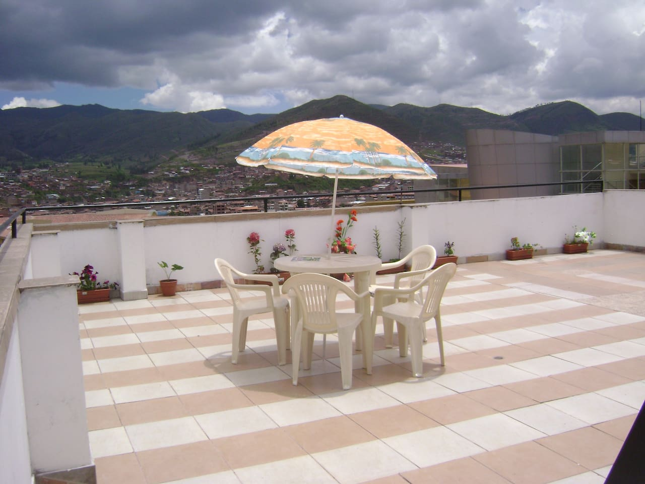 rooftop terrace, is free for all guests
