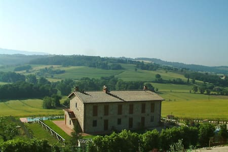 Near Todi appartment with swim pool - Ilci - Apartment