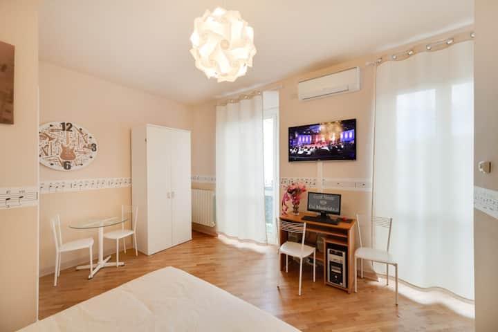 Dal Musicista Una Camera Speciale In Pieno Centro Appartamenti Serviti In Affitto A Sanremo Liguria Italia