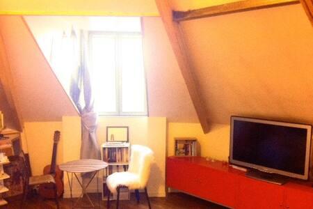 Appartement charmant sous les toits! - La Courneuve - Apartmen