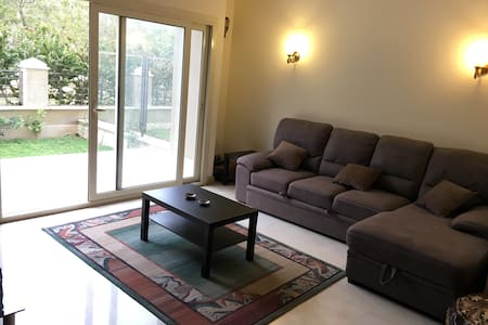 Cosy studio with a private garden in New Cairo - New Cairo City