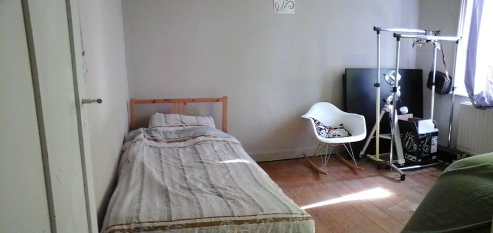 Chambre privée dans bel appartement - Lille - Appartement