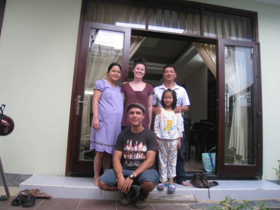 Guests from Australia