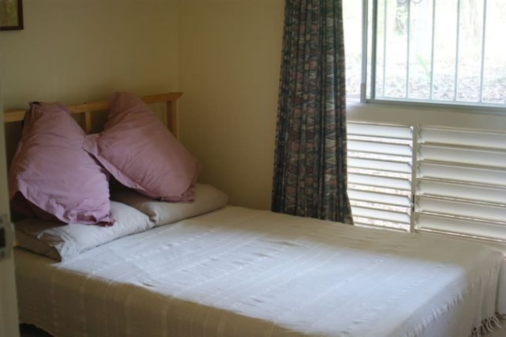 Room 1 with double bed (can also have single/twin beds)