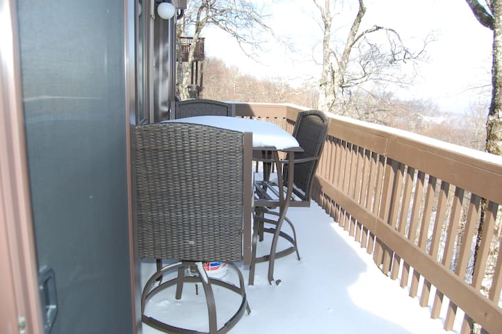 Brand New Condo with Stunning Views - Beech Mountain - Appartement
