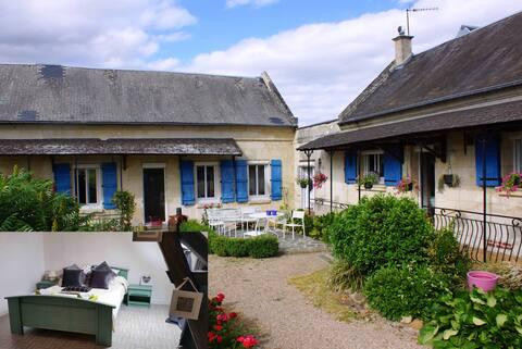 La Bretonnière, Chambre Emeraude