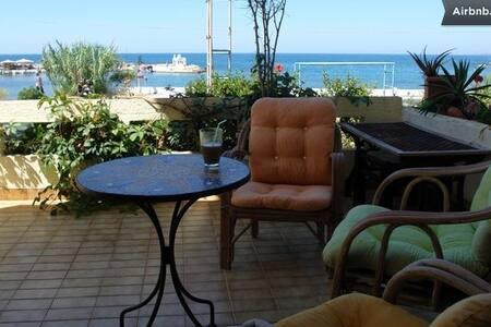 Sea View Artistic House in Crete - Galatas - 独立屋