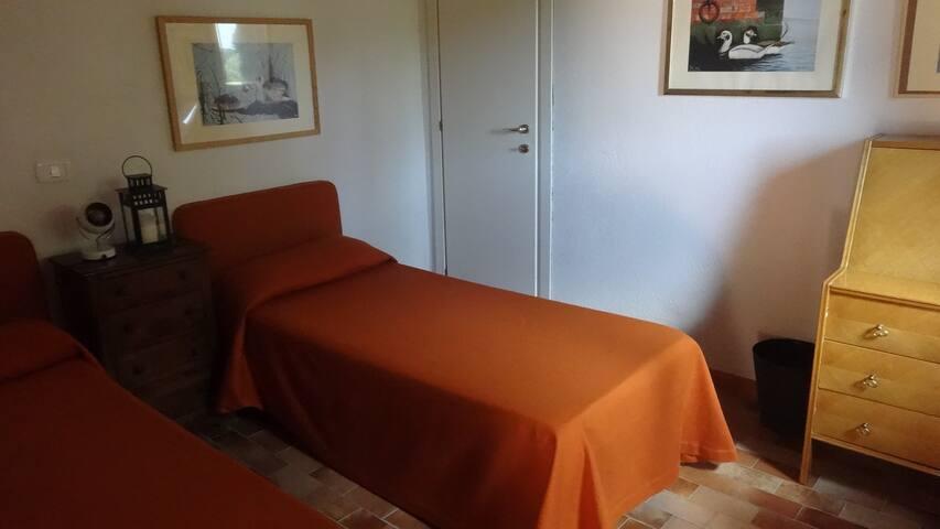 La seconda stanza da letto di Villa Stella