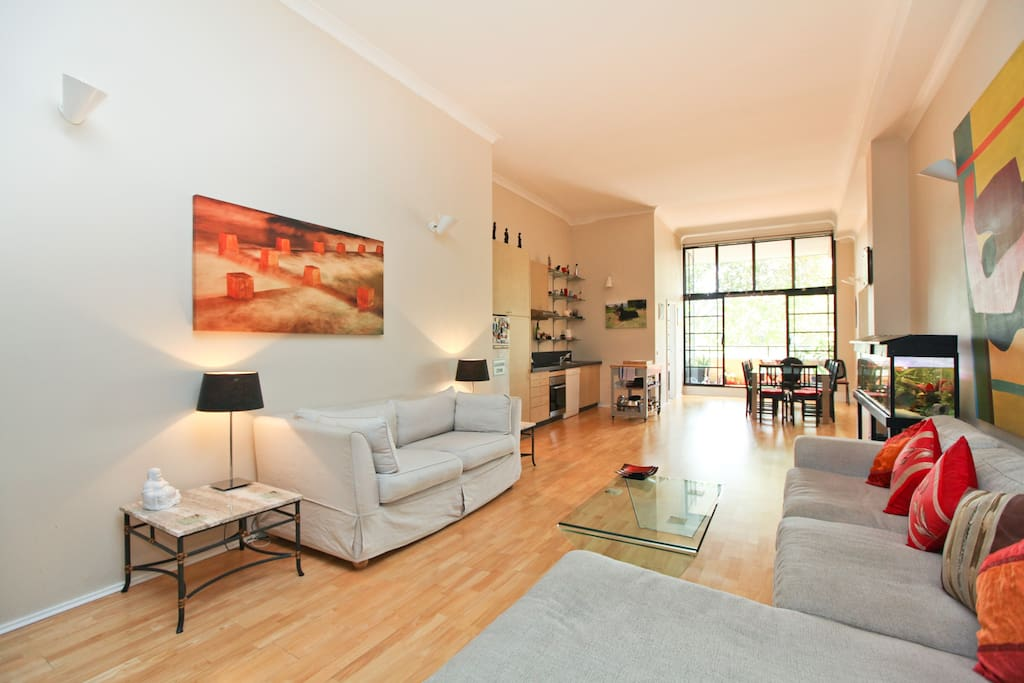 Stunning Inner City Apartment with a Warm Welcoming Feel.