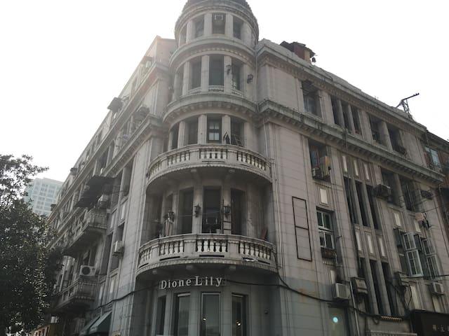租界百年江景洋房-1922 house in Concession(拍摄场地出租、小时房) - 武汉 - Lägenhet