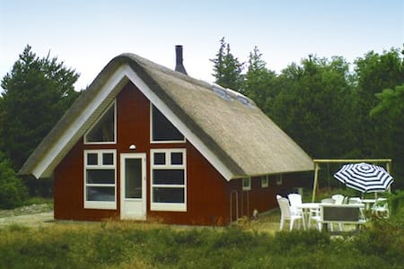 Renovated Wellness Cabin, 10 people - Rømø