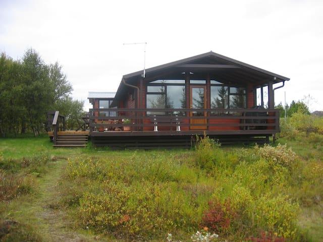 Lovely romantic cottage - Kiðjabergsvegur - Kulübe