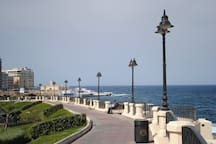 The area just 1 minute away! The promenade