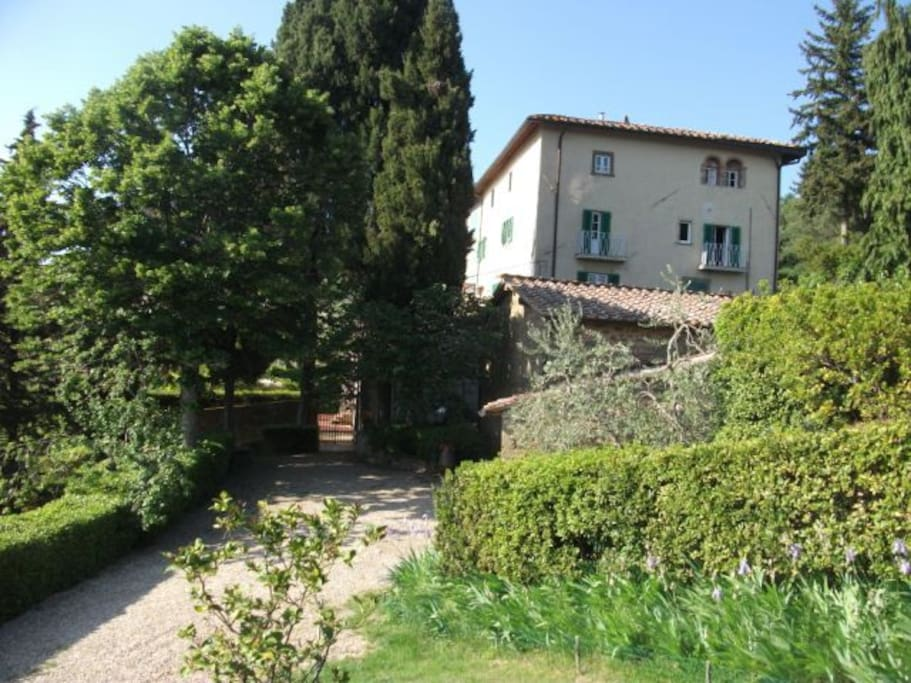 The villa Ridaldi