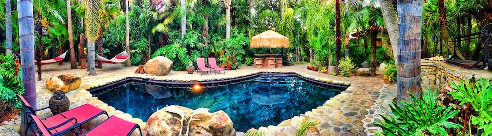Rolling Thunder Ranch Pool and Spa