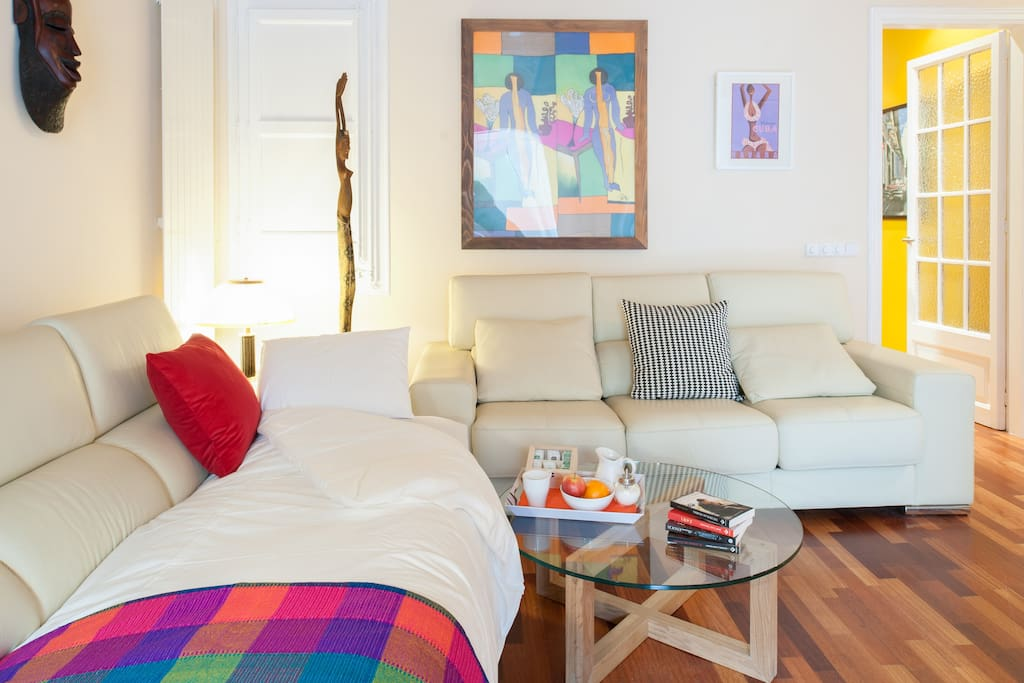 Classy central eixample apartment apartments for rent in for Central apartments barcelona