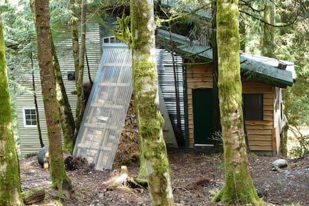 Tree house & tub w/amazing view of creek & woods - Sedro-Woolley - Baumhaus