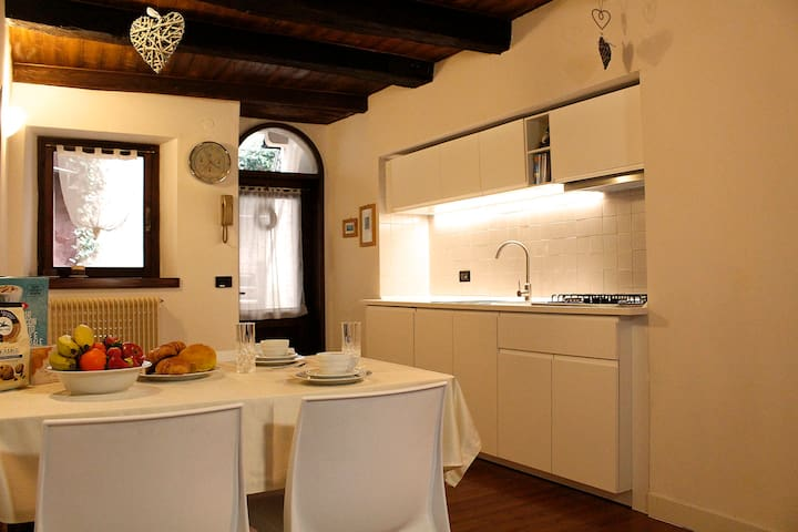 Apartment with terrace in the historic center