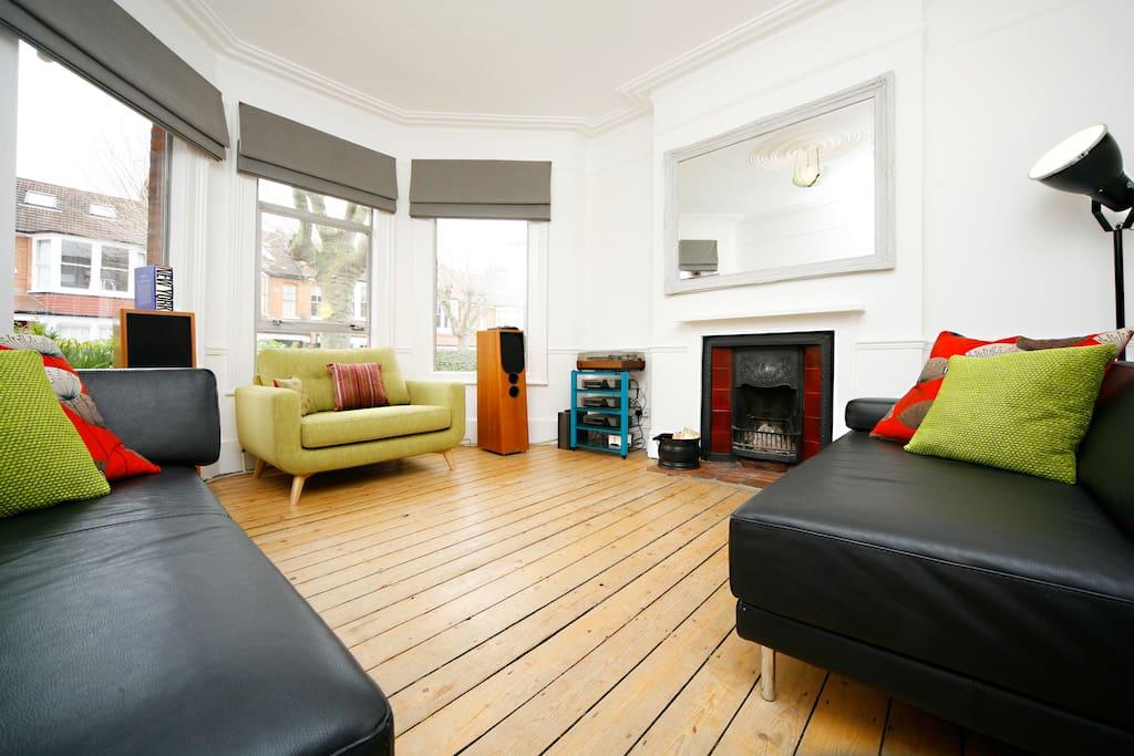 Chbre et salon de luxe crouch end appartements louer - Salon de the londres ...