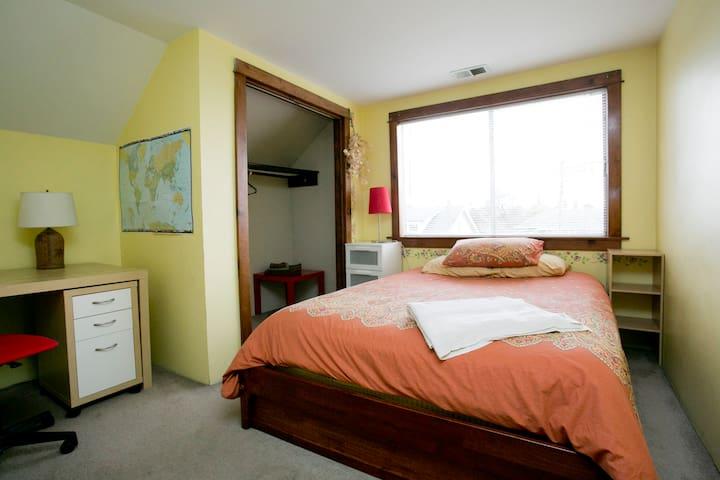 Sunny Queen Room FUN Alberta Arts
