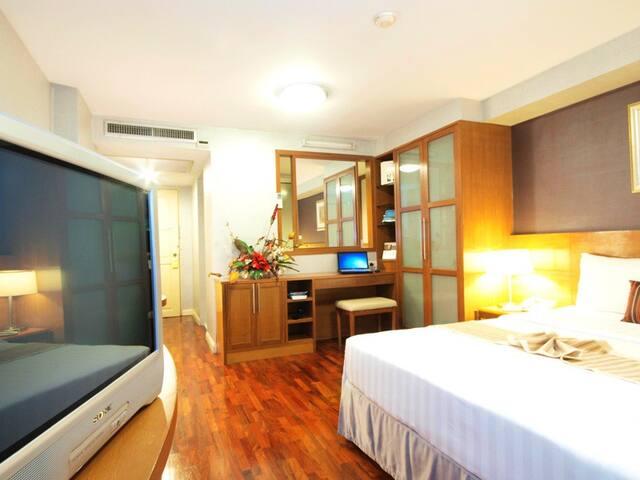 Cozy room with natural view. - Bangkok - Apartemen