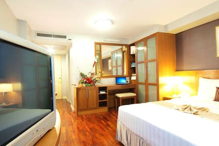 Cozy room with natural view. - Bangkok - Appartement