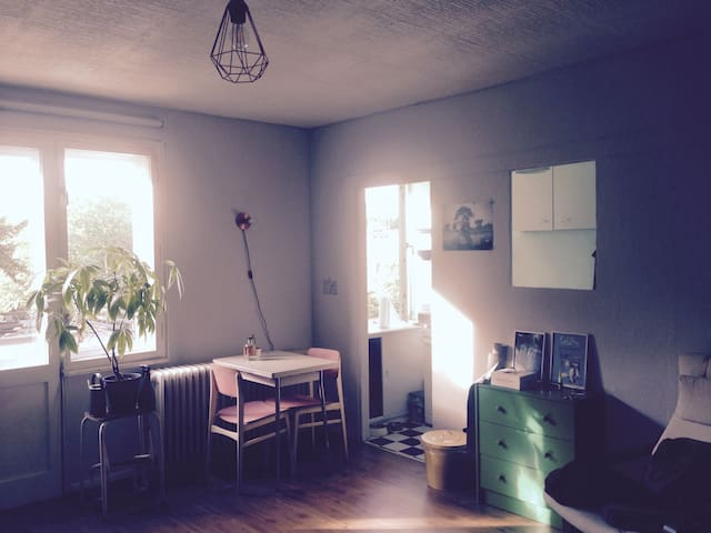 Cosy studio apartment in a green part of Neukölln - Berlin - Apartment