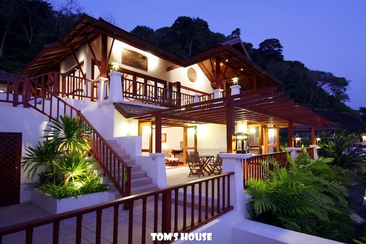 300m to Patong Beach/ Sea view/ Pool Villa/ W8