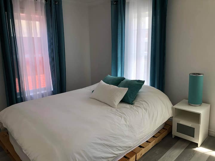 Appartement fraîchement rénové au centre-ville
