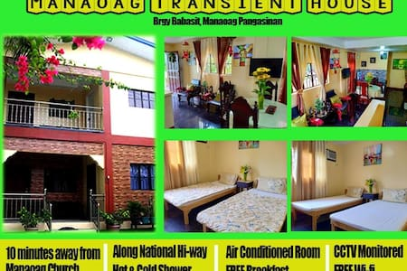 MANAOAG TRANSIENT HOUSE (Room 1)