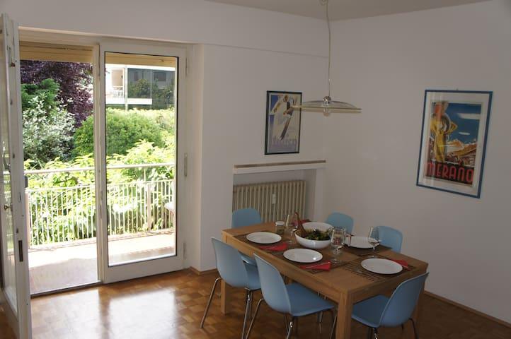 3 Zimmerwohnung zum Entspannen in Meran Obermais - Meran - Daire