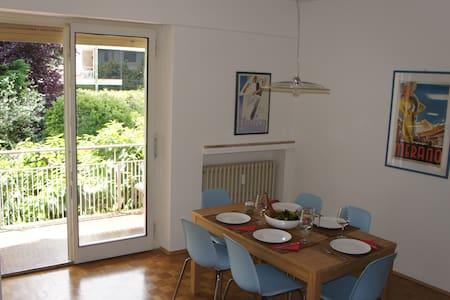 3 Zimmerwohnung zum Entspannen in Meran Obermais - Meran - Lejlighed