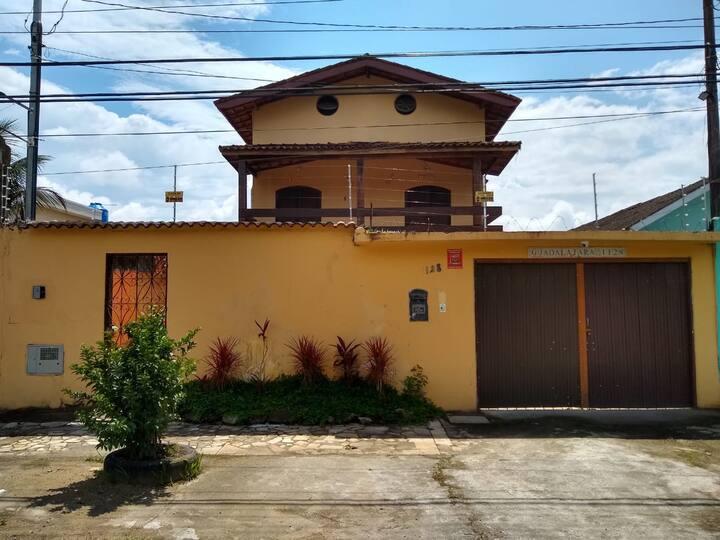 Casarão da Praia Guarujá - Suíte 6 - Casal Fundos