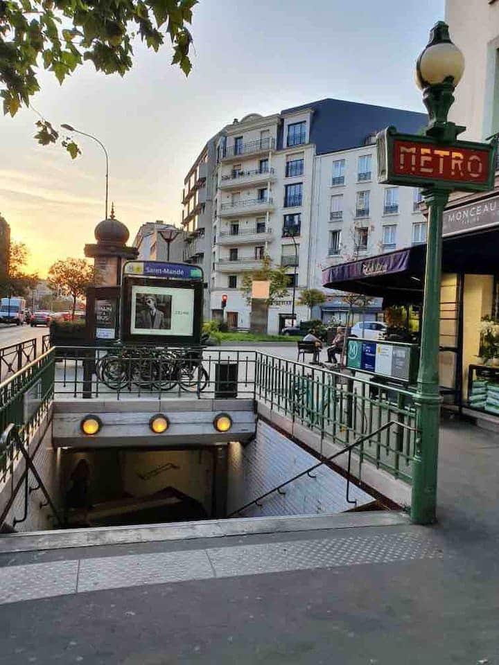 Grand appartement calme  aux portes de Paris