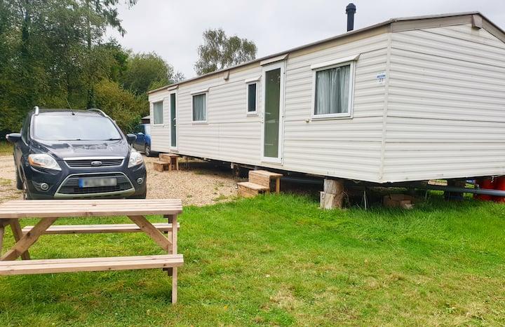 Autumnal Discounts - Jurassic Coast 3 bed heated Caravan