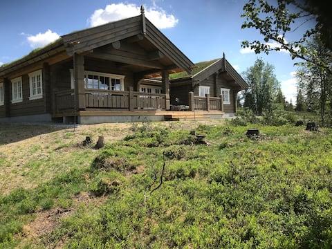 Ny hytte på Gålå med flott utsikt