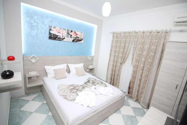 Apartments Cota, Double Bedroom 1