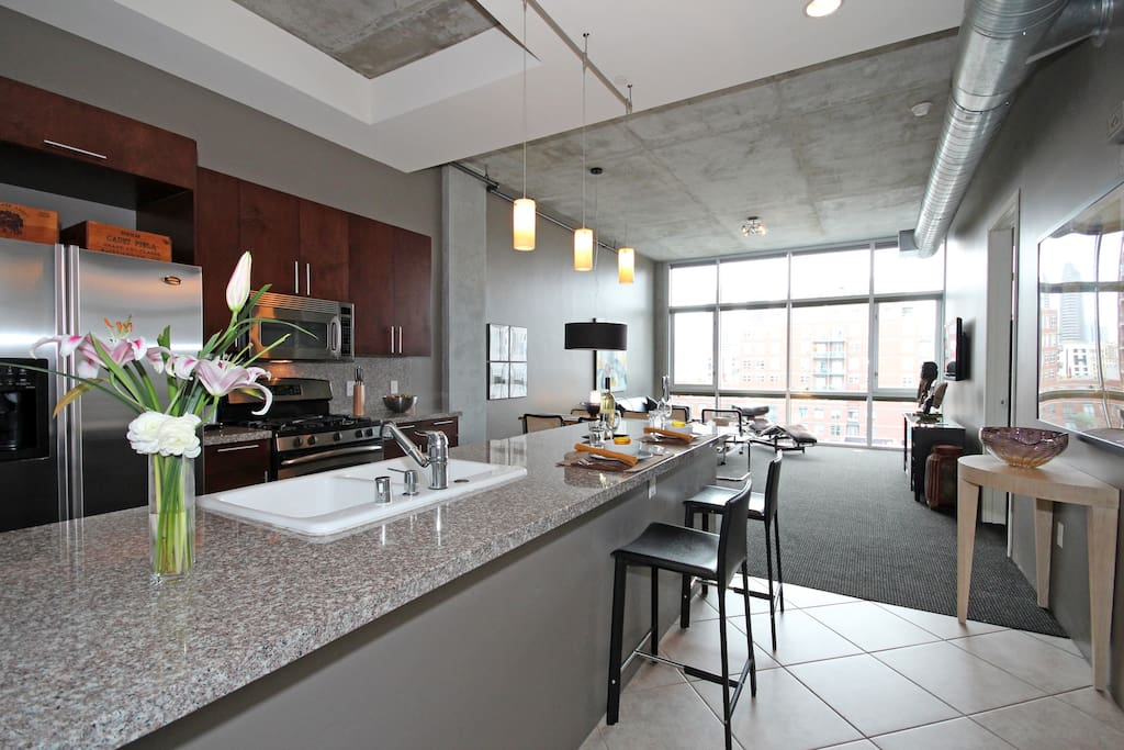 Modern east village ballpark loft lofts for rent in - Loft industriel san diego californie ...