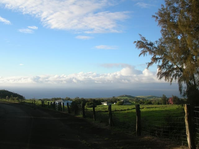 The Views are  Up Country Beauty, Close to the Ocean and best of Hawaii