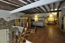 Stone made apartment with beautiful mezzanine!