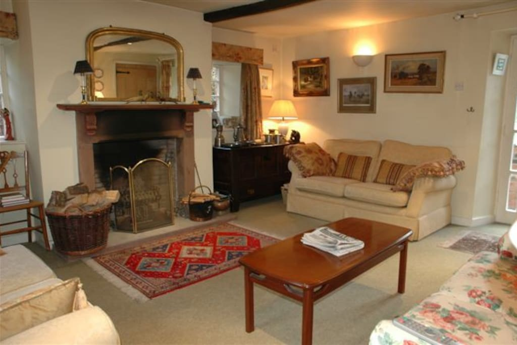 Lovely double room in the country