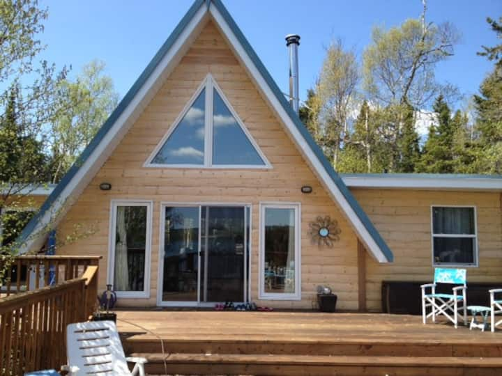 A Chalet on Lake Superior - we have it all