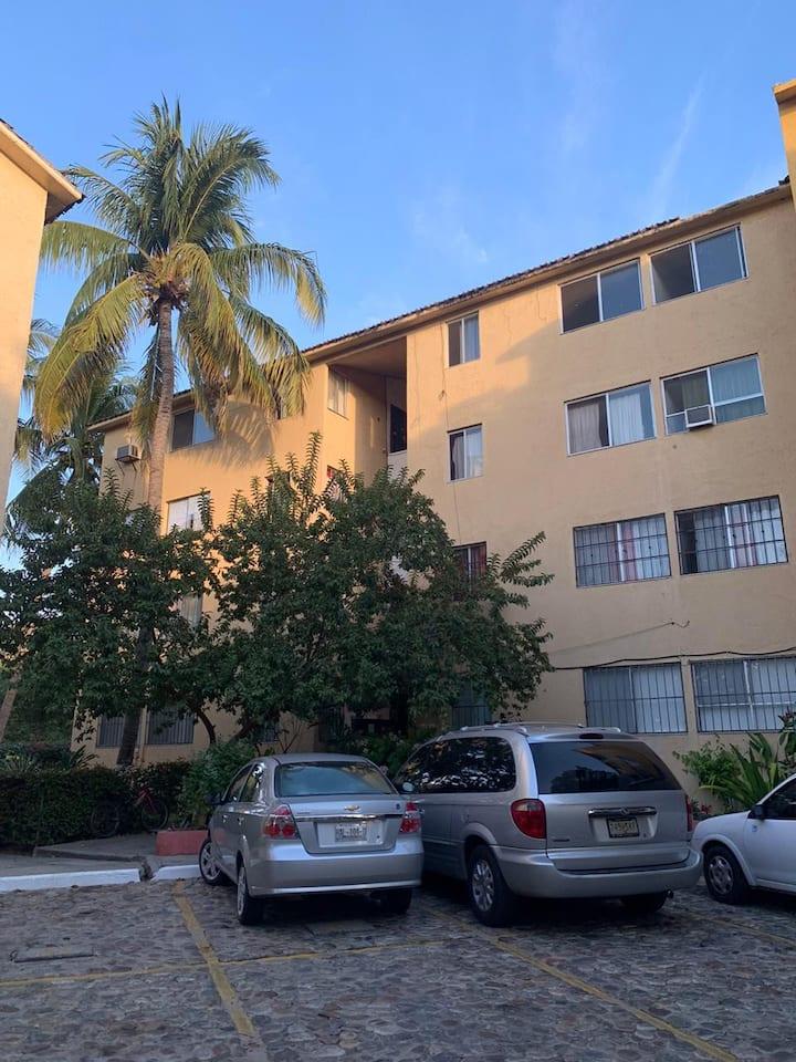 Residencial Chahué, 2 habitaciones cómodas.