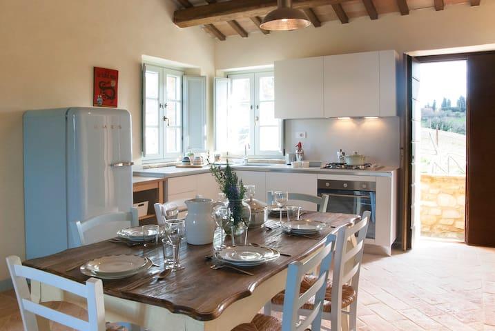 Casale Biancopecora, Casa Cerqua - Monsampietro Morico - Apartemen
