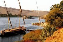 Blick von Elephantine Island