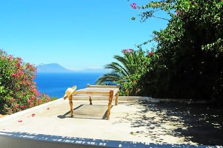 Filicudi panoramic villa - Sicily - Lipari - Villa