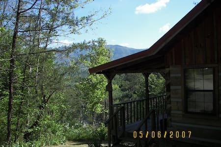 Real Log Cabin in the Smokies - Townsend
