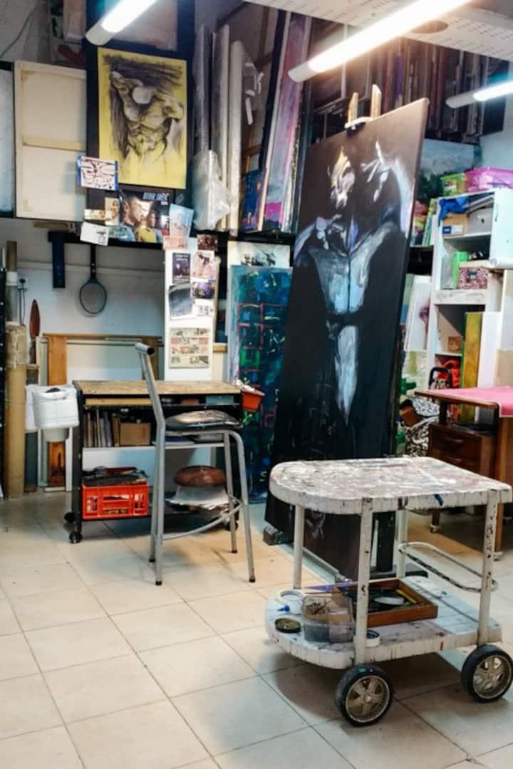 Juan's studio