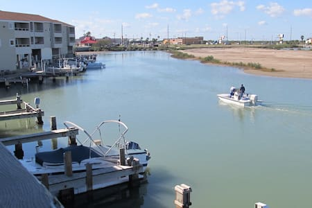 Little Venice Waterfront:Boat dock - Port Isabel - Apartamento
